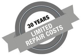 30 Years Limited Repair Costs