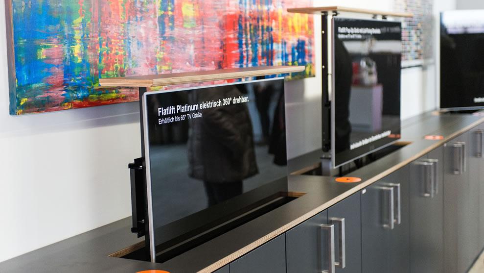 Bekannt TV Lift und Beamer-Lift von Flatlift. Große TV Lift Auswahl, jetzt AS84