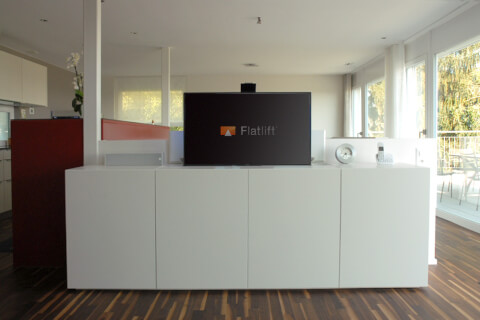fernsehlift pop up extraflat tv lift fernsehlift tv lift. Black Bedroom Furniture Sets. Home Design Ideas