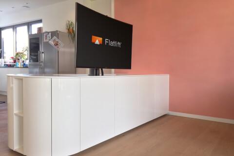 Sideboard Tv Lift motorized tv lifts - flatlift budget tv lifts motorized tv lifts