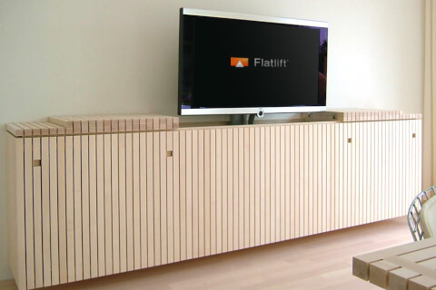tv lifts flatlift budget tv lifts tv lifts flatlift. Black Bedroom Furniture Sets. Home Design Ideas