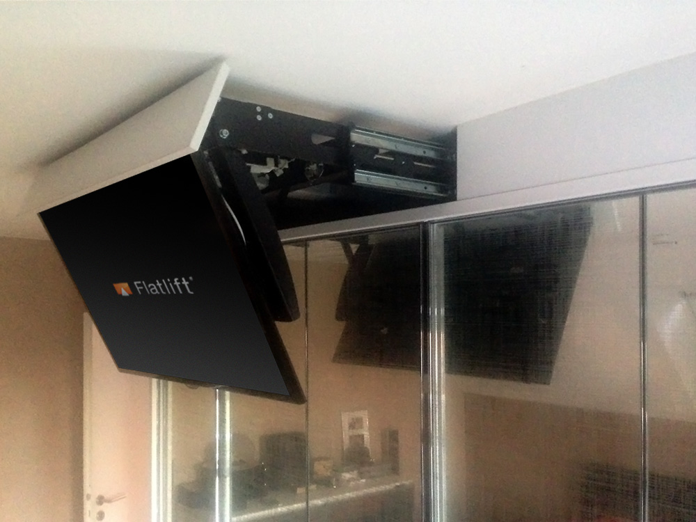 Tv Lift Schrank special construction solutions flatlift tv lift systeme gmbh
